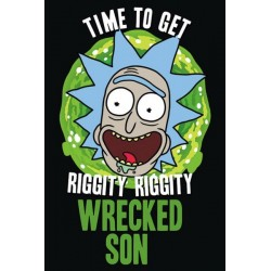 RICK AND MORTY - POSTER 61X91.5 - WRECKED SON