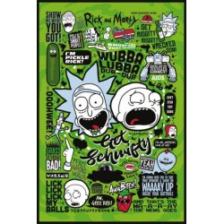 RICK AND MORTY - POSTER 61X91.5 - QUOTES