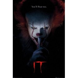 HORROR - IT - POSTER 61X91.5 - PENNYWISE HUSH