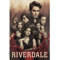 SERIES TV - RIVERDALE - POSTER 61X91.5 - LET THE GAME BEGIN