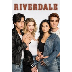 SERIES TV - RIVERDALE - POSTER 61X91.5 - BUGHEAD AND VARCHIE