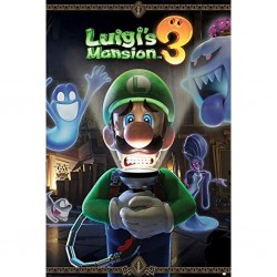 NINTENDO - LUIGIS MANSION 3 - POSTER 61X91.5 - YOUR IN FOR A FRIGHT
