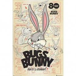 ANIMATION - LOONEY TUNES - POSTER 61X91.5 - BUGS BUNNY AINT I A STINKER