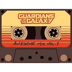 MARVEL - GUARDIANS OF THE GALAXY - TOILE 60X80 - AWESOME MIX VOL 1