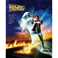 BACK TO THE FUTURE - TOILE 40X50 - ONE SHEET
