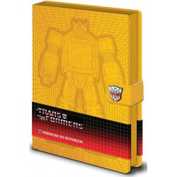 MOVIES - TRANSFORMERS - NOTEBOOK A5 PREMIUM - BUMBLEBEE