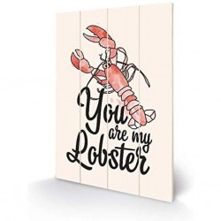 FRIENDS - IMPRESSION SUR BOIS 40X59 - YOU ARE MY LOBSTER