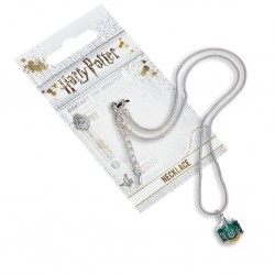HARRY POTTER - COLLIER PLAQUE ARGENT - SLYTHERIN-1