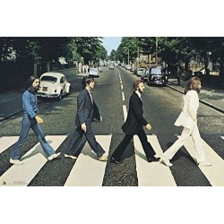 MUSIC - THE BEATLES - POSTER 61X91.5 - ABBEY ROAD