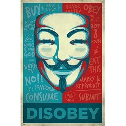 DIVERS - POSTER 61X91.5 - DISOBEY